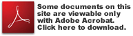 Download Acrobat Reader to view documents on this site