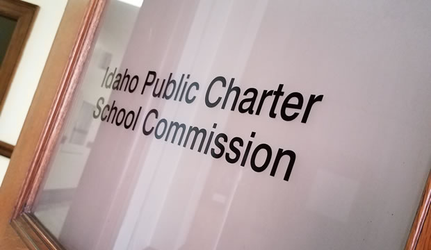 Idaho public charter commission door