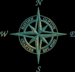 Hayden logo, compass symbol